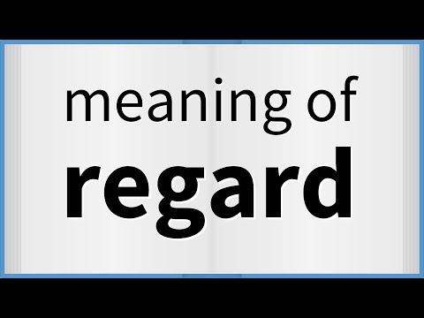 Phân biệt In regard to, with regard to và as regards