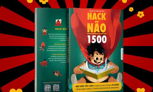Review sách Hack não 1500 từ tiếng Anh 2020