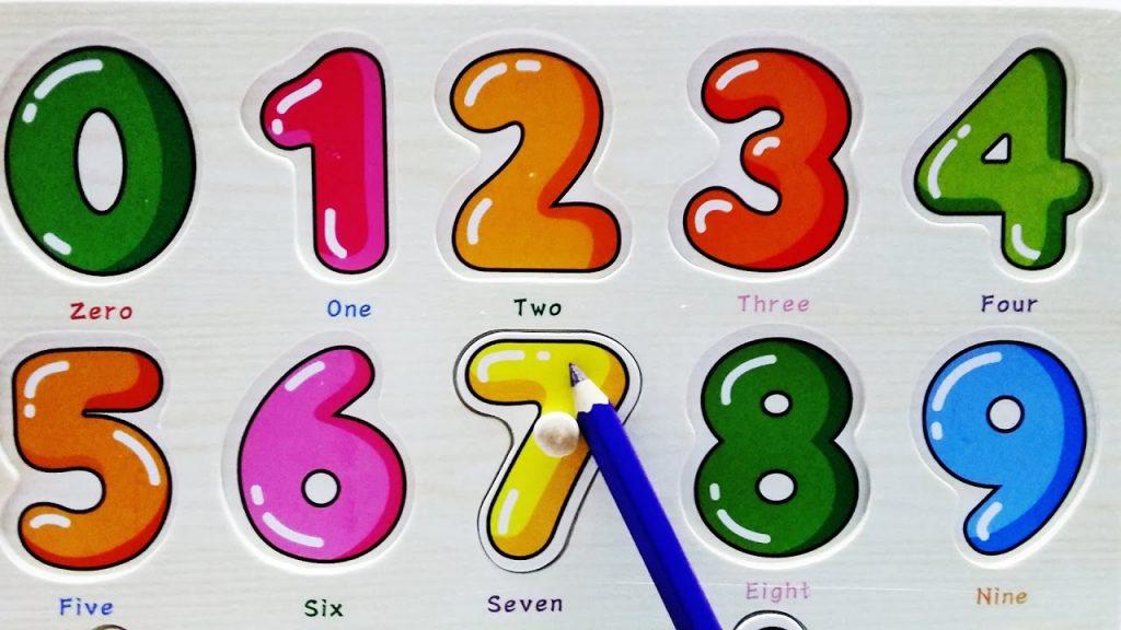 Số đếm trong tiếng Anh