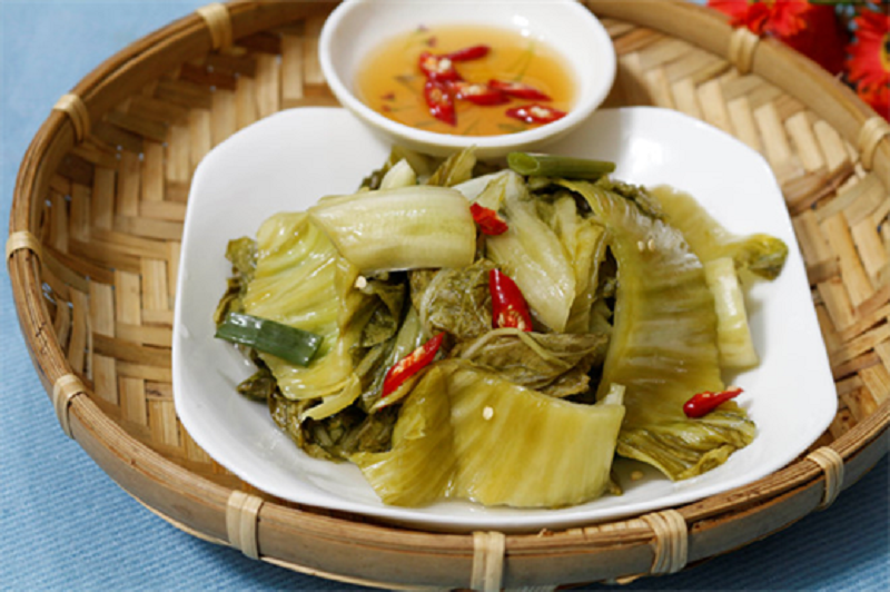 Dưa muối: Salted vegetables