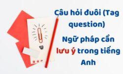 Câu hỏi đuôi (Tag question) – Ngữ pháp cần lưu ý trong tiếng Anh