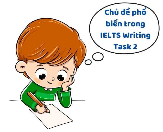 Chủ đề phổ biến trong IELTS Writing Task 2