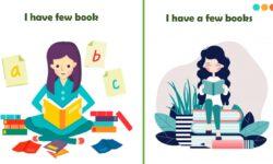 Cách sử dụng và phân biệt few & a few