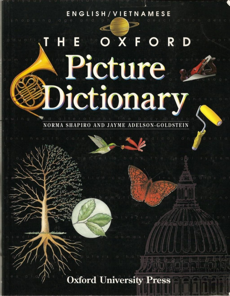 Từ điển Oxford Picture Dictionary