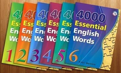 Giới thiệu sách 4000 Essential English Words
