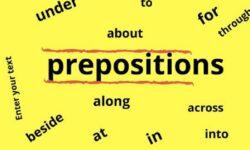 Quy tắc sử dụng giới từ trong tiếng Anh