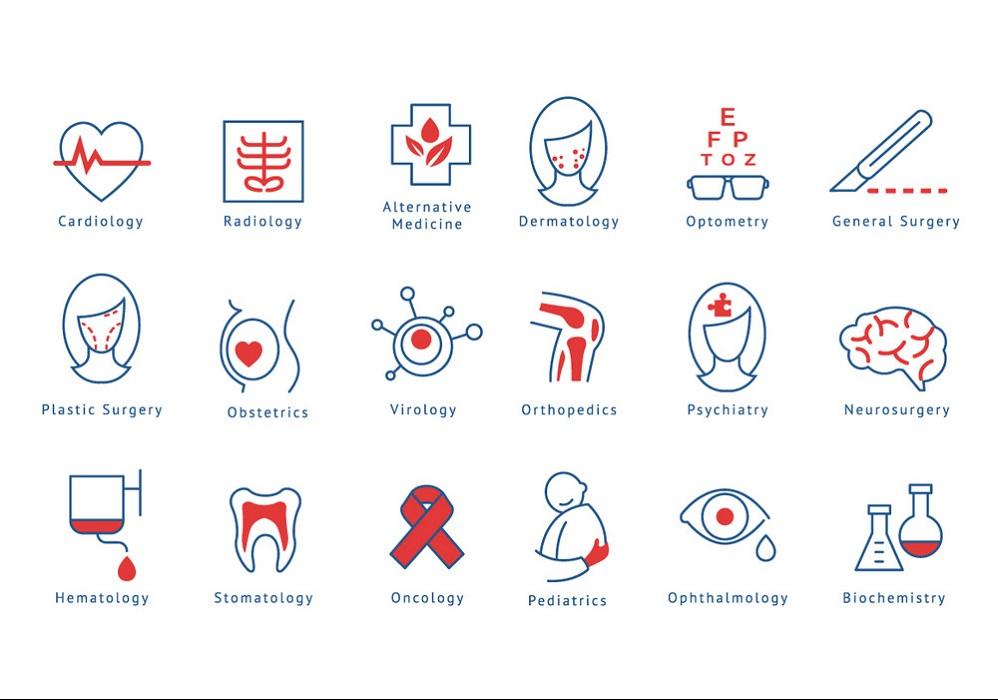 Tên những khoa phòng trong bệnh viện bằng tiếng Anh