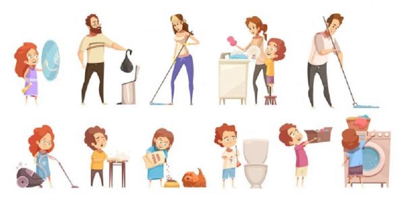 Từ vựng tiếng Anh về công việc nhà