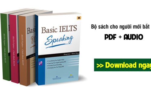 Download trọn bộ Basic IELTS Listening, Speaking, Reading, Writing (PDF + Audio) bản cực đẹp