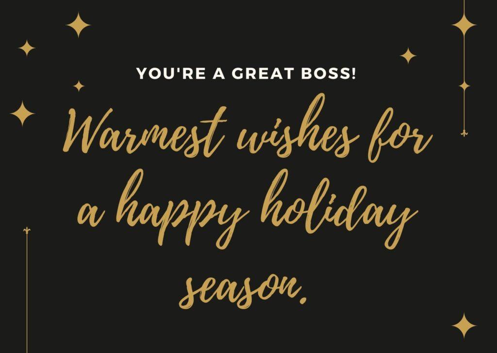Những lời chúc mừng Giáng sinh bằng tiếng Anh dành cho sếp