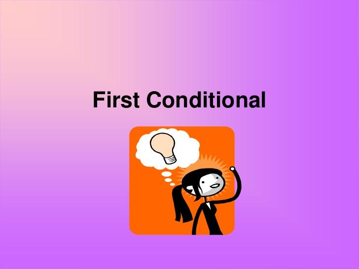 Câu điều kiện loại 1 trong tiếng Anh
