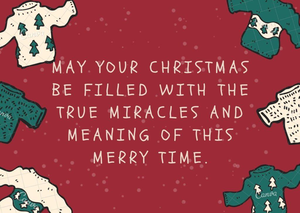 Lời chúc mừng Giáng sinh bằng tiếng Anh gửi tới bạn bè