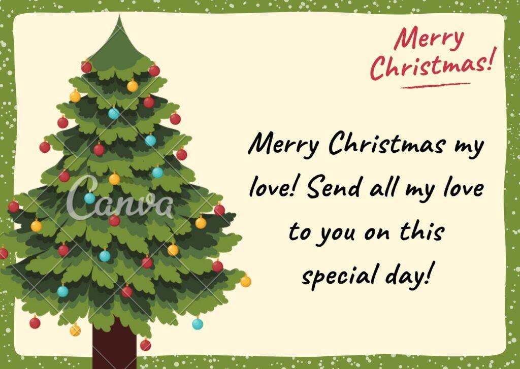 Những lời chúc mừng Giáng sinh bằng tiếng Anh dành cho người yêu