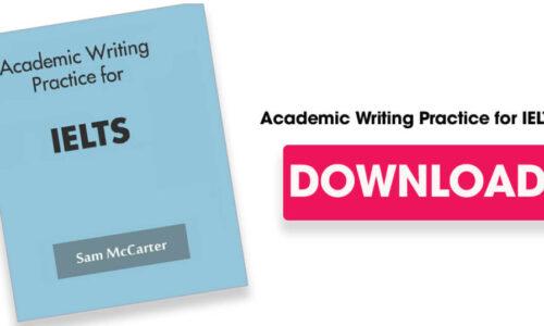 Tải sách Academic Writing for IELTS by Sam McCarter miễn phí